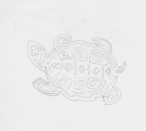 graphic land turtle