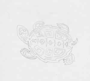 graphic land turtle